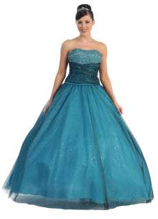 Quinceanera Sweet 16 Ball Gown   New Winter Ball Pageant Dress