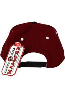 Zephyr Shadow Script University Of Alabama Crimson Tide Snapback Hat