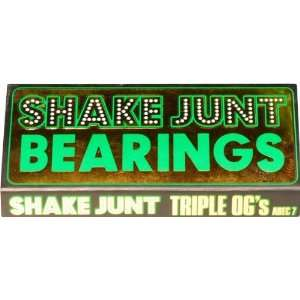 Shake Junt Triple Ogsmall A 7 Bearings Single Set Skateboarding