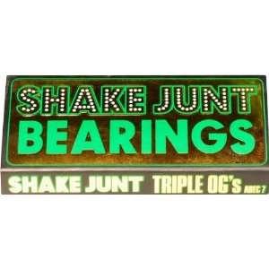 Shake Junt Triple Ogsmall A 7 Bearings Single Set Skateboarding