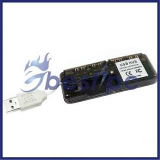 USB 2.0 HUB High Speed 480 Mbps PC Slim Ship Fast Ship From USA