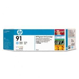 HEWLETT PACKARD C9470A HP 91 Ink Light Cyan Each Cartridge