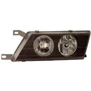 Anzo USA 121114 Nissan Sentra with Halo Black Headlight