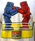 ROCK EM SOCK EM ROBOT BOXING T SHIRT HOT RAT ROD FORD CHEVY MOPAR TOY
