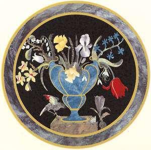 Ceramic Decals VENUS Modern Deco Floral Vase Scene