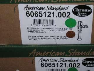 6065121.002 American Standard sensor flush Valve