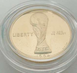 USA WORLD CUP COM. 3 COIN SET $5 DOLLAR GOLD~ SILVER PROOF DOLLAR 90%
