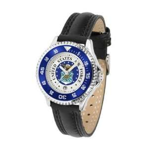 U.S. Air Force MILITARY Womens Leather Wrist Watch Sports