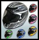 Full Face/ Road Bike Helmet *AS/NZS1698* Motorbike Gear/Motorcycl​e