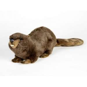 Hansa Papa Beaver Stuffed Plush Animal Toys & Games