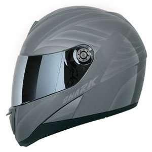 Shark S 650 Fusion Tec Motorcycle Helmet   Silver