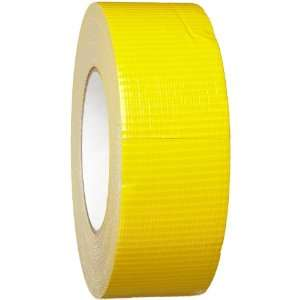 Printable Plastic Backed Cloth, Yellow Color Economy Pipe Banding Tape