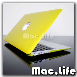 METALLIC YELLOW Hard Case Cover for Macbook Air 13