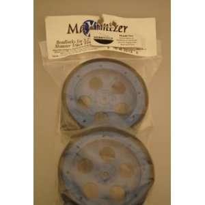 1112 5 Hole Beadlock Wheels Zero Offset Blue 14mm Toys
