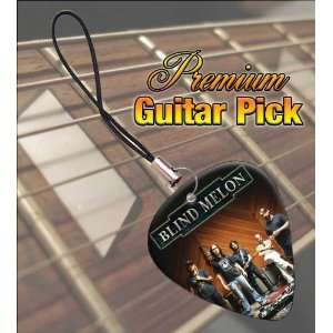 Blind Melon Premium Guitar Pick Phone Charm Musical