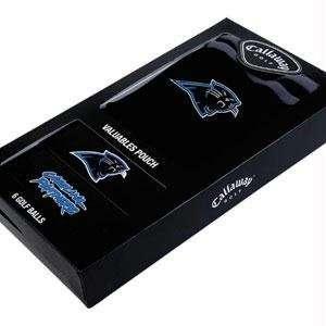 Carolina Panthers NFL Team Logod Golf Balls (6) and Embroidered