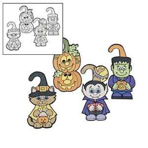 Halloween Door Hangers   Craft Kits & Projects & Color Your Own: Toys