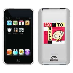 Stewie Griffin on iPod Touch 2G 3G CoZip Case: Electronics