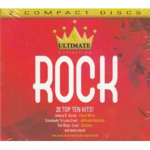 Ultimate Collection Rock   20 Top Ten Hits Various Artists Music