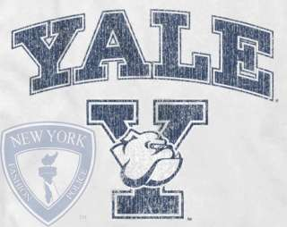 YALE UNIVERSITY BULLDOGS T SHIRT WOMENS VINTAGE TOP M