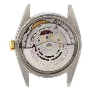 Rolex Datejust Mens Ss 14k Yellow Gold Watch 16013