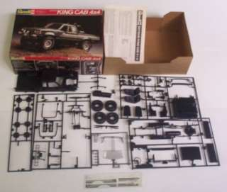Datsun 4x4 King Cab Truck Off Road Pickup 125 Revell Model Kit Vtg