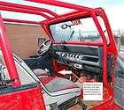 Jeep YJ CJ front roll cage kit DOM tubing rock Koz O.R.