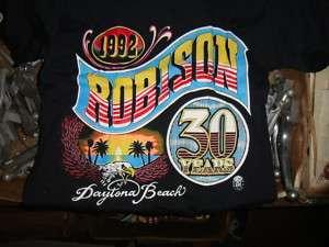 Robison Harley Davidson 30 years T Shirt  Sm or Med