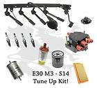 BMW E30 M3 S14 Tune Up Kit Oil Air Fuel Filter Spark Plug Wire Coil
