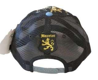 Thorns Brand Ed Hardy Style Trucker Hat Cap Skull So Cal Blue Birds
