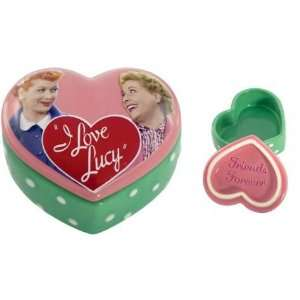 I Love Lucy Friends Forever Heart Trinket Box Toys & Games