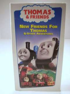 Thomas & Friends New Friends for Thomas VHS Tape 097368744233