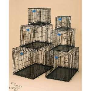 Metal Products MW00485 48x30x33 Dog Crate Double Door