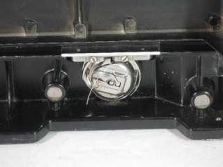 VINTAGE 1956 SINGER FEATHERWEIGHT SEWING MACHINE 221 W/CASE PORTABLE