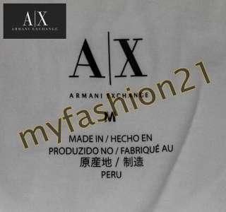 NWT Armani Exchange A/X AX logo WOMEN Graphic Tee T Shirts top White