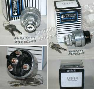 Ignition Switch, Panel Mount Universal Rat Hot Rod Dash