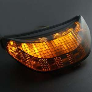 12V Smoke Lens LED Integrated Turn Signal Stop Brake Tail