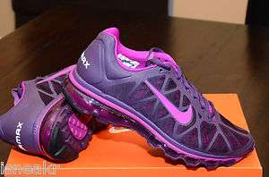 NIKE WMNS AIR MAX+ 2011 WINE VIVID GRAPE 429890 650 NEW Womens