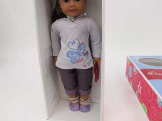 American Girl G1952 RF1A 18 Doll Med. Skin, Brown Hair, Brown Eyes