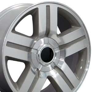 Texas Style Wheel MachinedFits Chevrolet   Silver 20x8.5