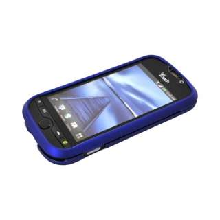 4g Slide Blue Rubberized Protective Hard Shell Case Cover