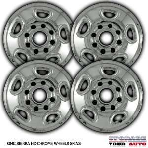 1999 2006 GMC Sierra HD 16 Chrome Wheel Skins Automotive
