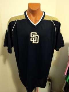 Majestic MLB San Diego Padres Impact Jersey Big/Tall LT