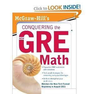 Conquering the New GRE Math [Paperback] Robert Moyer (Author) Books