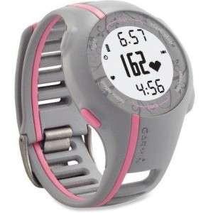 New Garmin Forerunner 110 Sport Watch GPS + HRM Women Pink Heart Rate