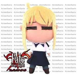 FATE STAY NIGHT SABER UFO 12 PLUSH + Pin Toys & Games