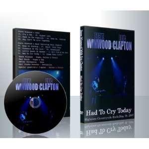 Steve Winwood & Band w/Eric Clapton 5/19/07 DVD Kitchen
