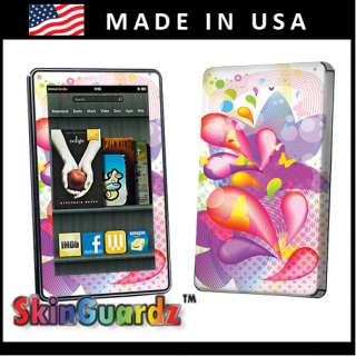 Vinyl Case Decal Skin To Cover  Kindle Fire eBook Tablet