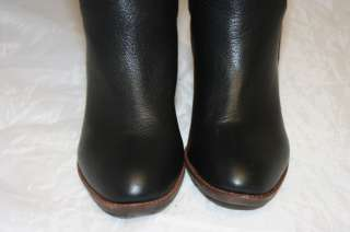 JEFFREY CAMPBELL NEW WOMENS 8 TALL SUPPLE BLACK LEATHER KNEE HIGH