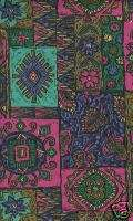 NEW SCRUBS PRINTED TOP MEDICAL UNIFORM Ethnic Patch S
